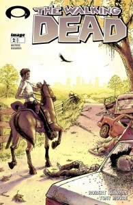 Walking Dead Issue 2 Cover