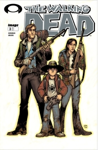 Walking Dead Issue 3 cover